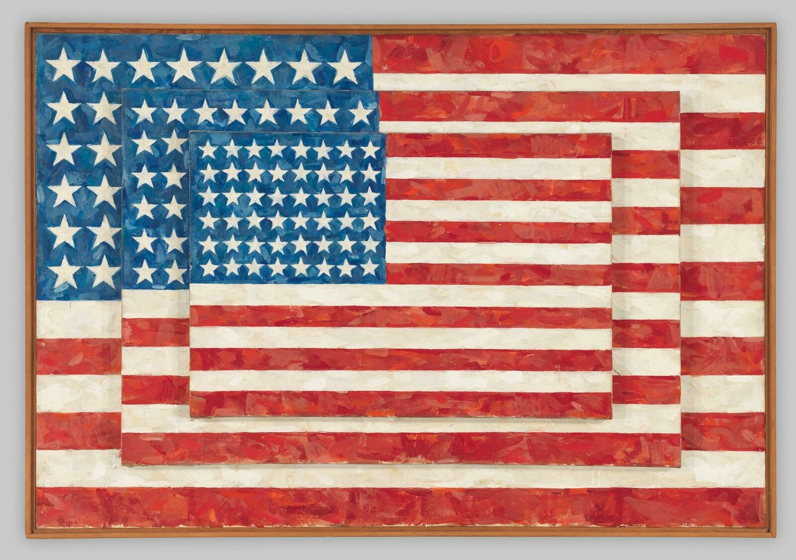 Jasper Johns | Three Flags | Whitney Museum of American Art