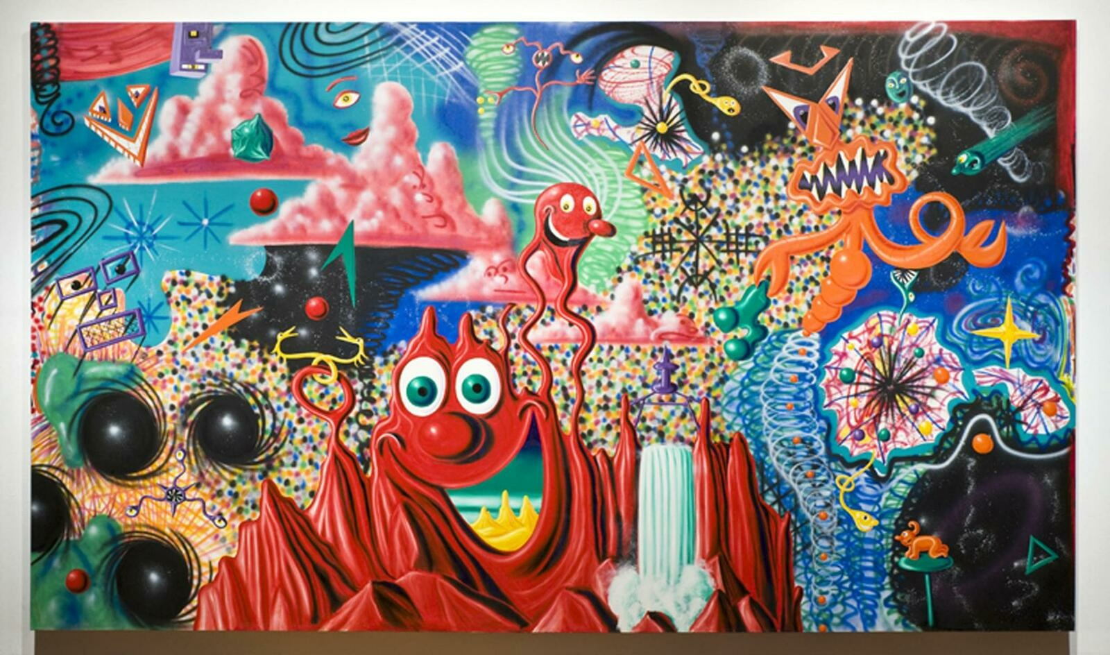 Kenny Scharf | When the Worlds Collide | Whitney Museum of American Art