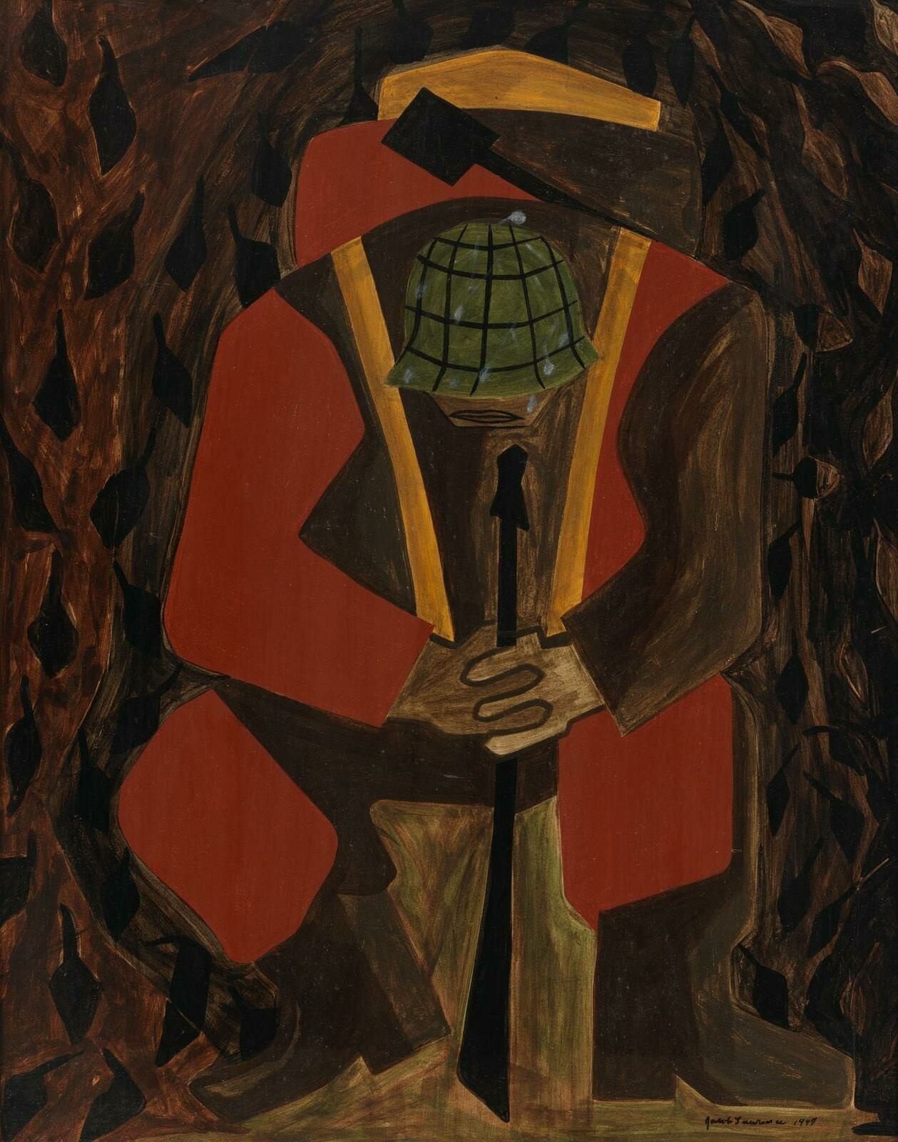 Jacob Lawrence | War Series: Victory | Whitney Museum of American Art