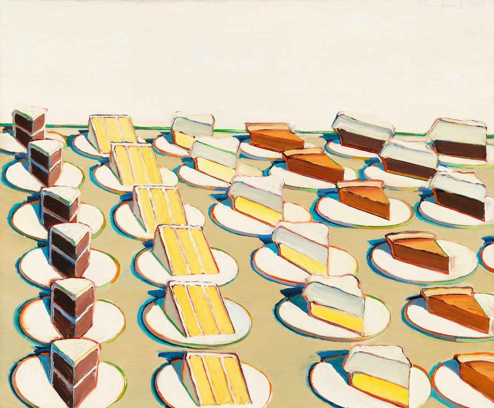 Wayne Thiebaud | Pie Counter | Whitney Museum of American Art