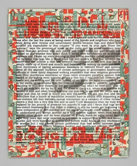 David Wojnarowicz | Untitled (Hujar Dead) | Whitney Museum of American Art