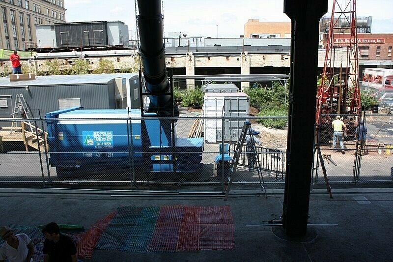 Installing the outdoor installation