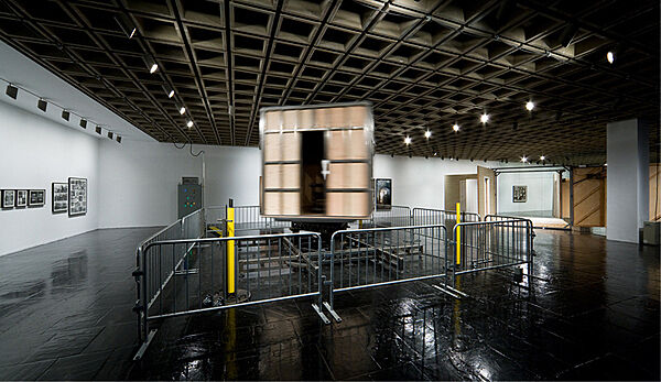 Installation by Paul McCarthy in the Whitney Museum.