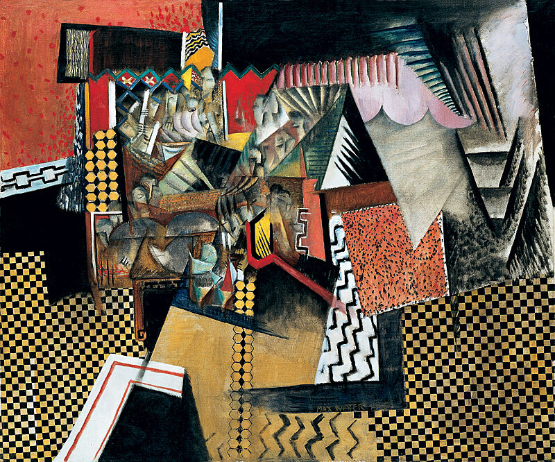 Abstract artwork by Max Weber.