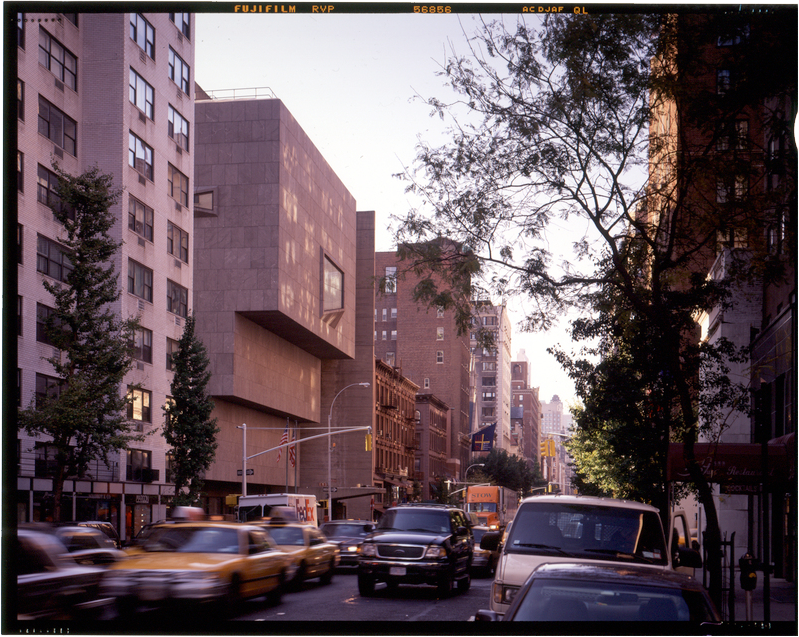 Photo from the 1970s of the Breuer building