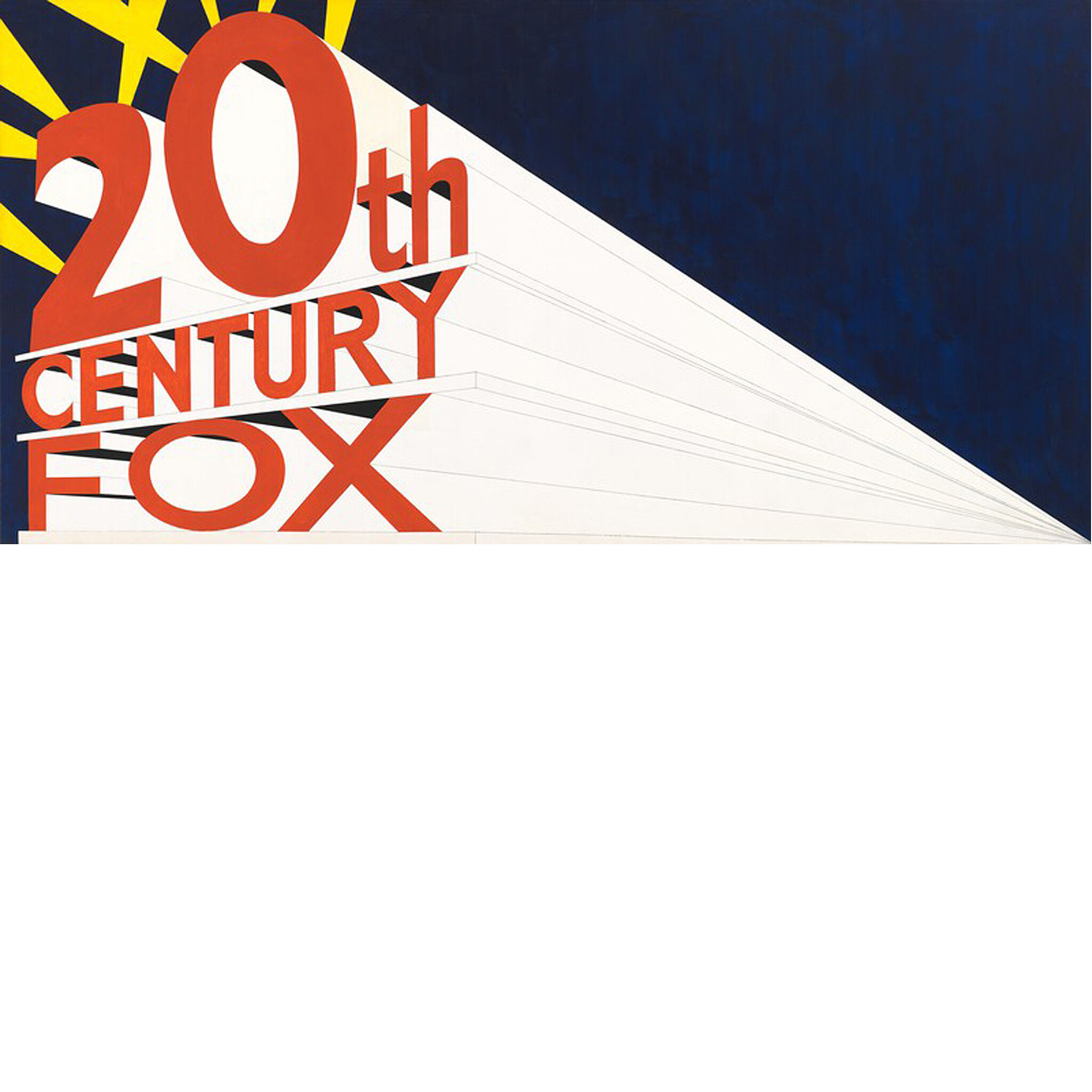 Twentieth Century Fox logo emanating from corner.