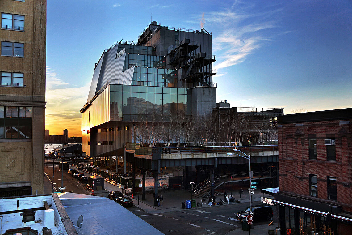 New Whitney Museum In Nyc