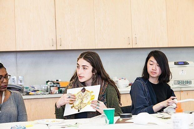 A teen talks about their artwork