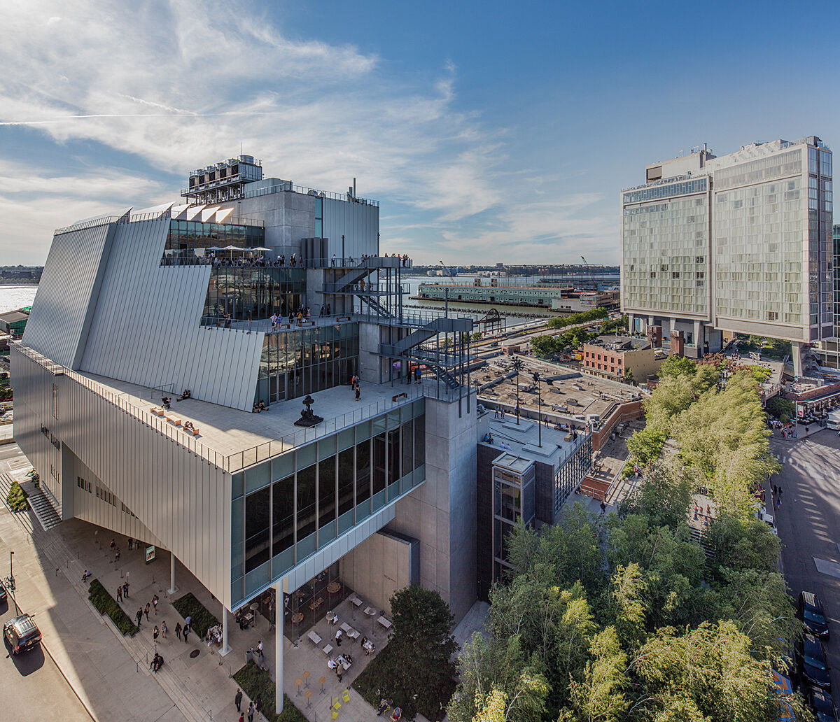 New Whitney Museum building