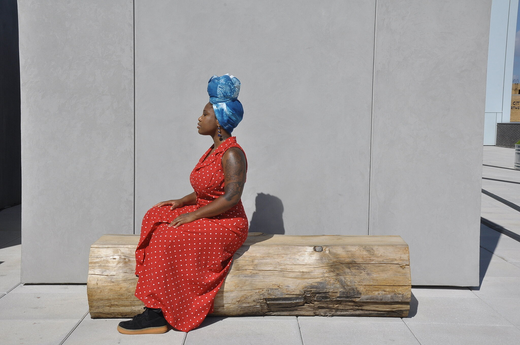 Tamara Renée Davidson performs at the Whitney