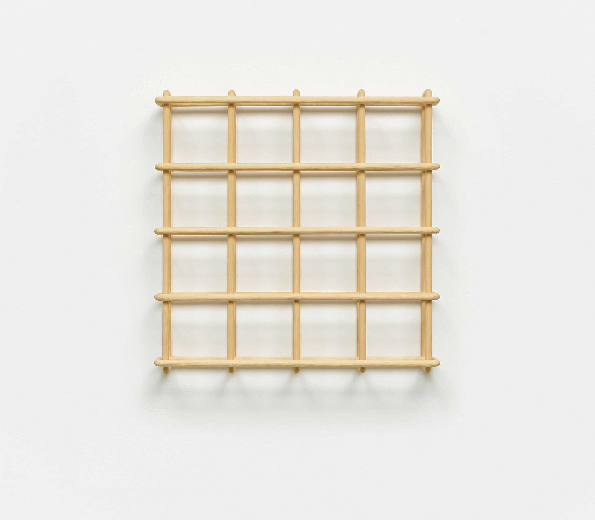 A grid made from wood