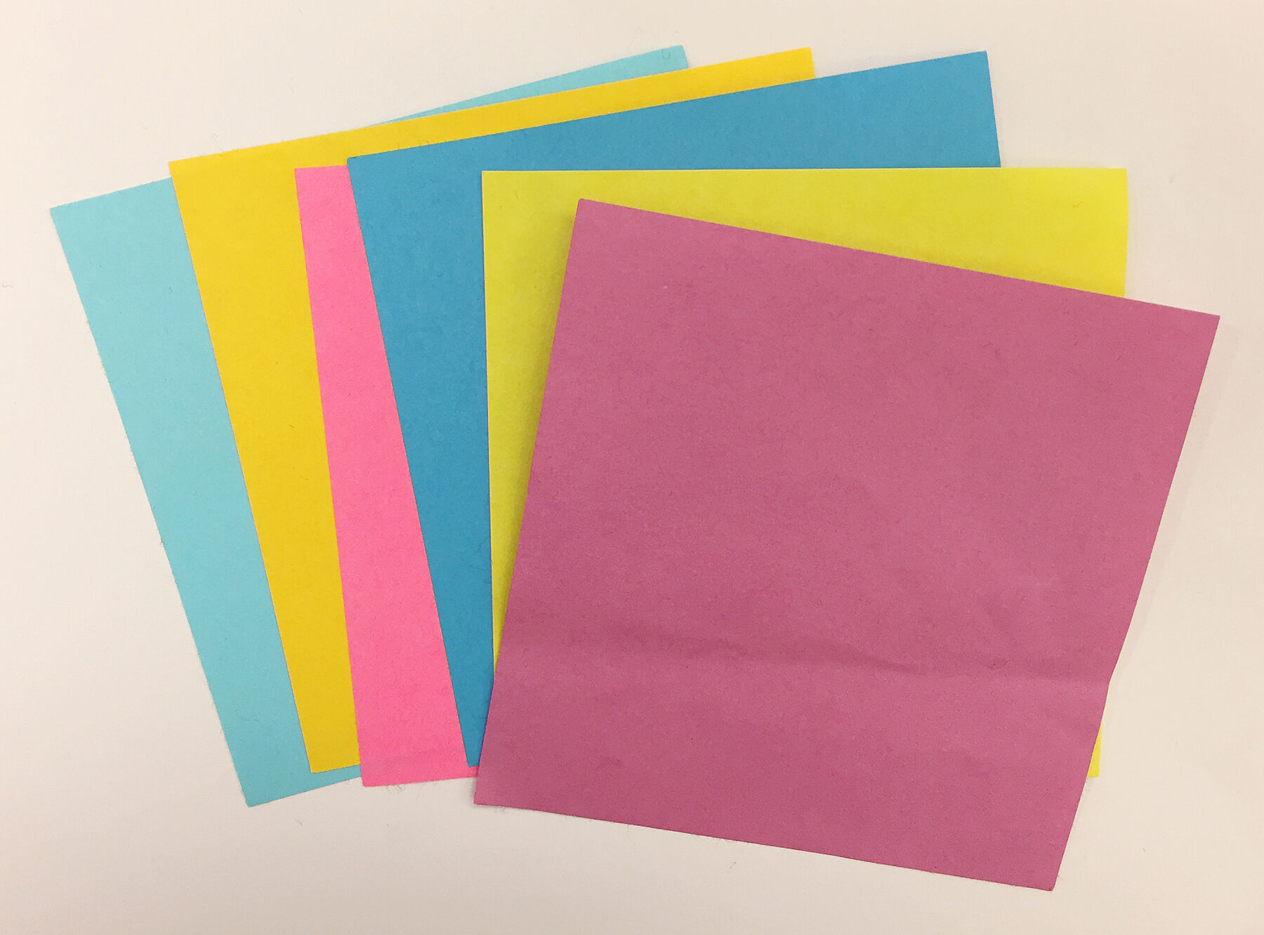 Colored paper.