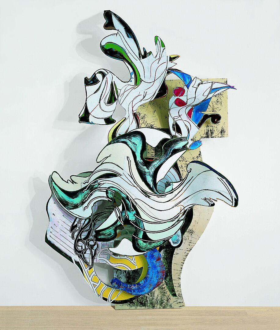 Artwork by Frank Stella.