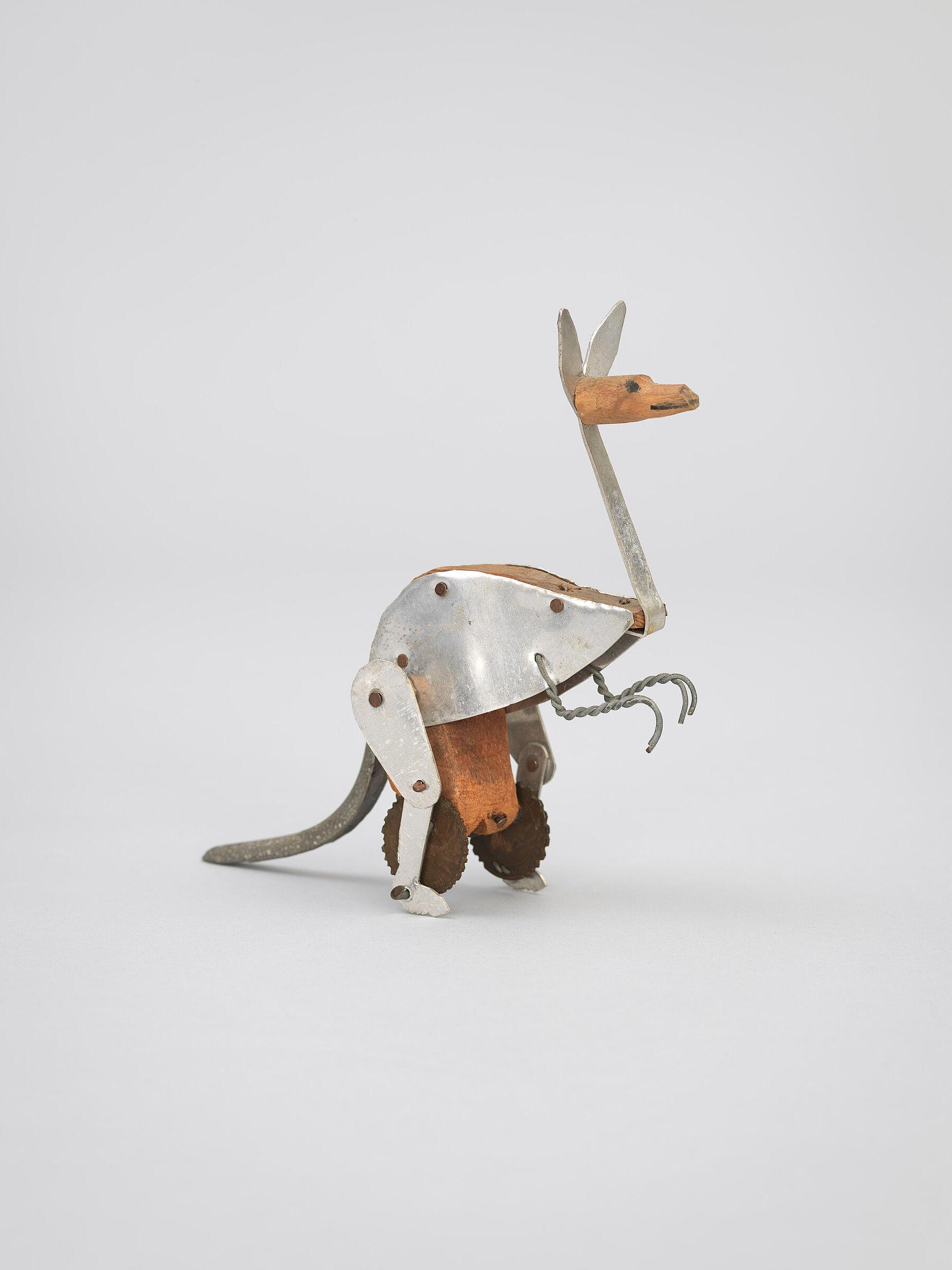 Kangaroo sculpture by Alexander Calder.
