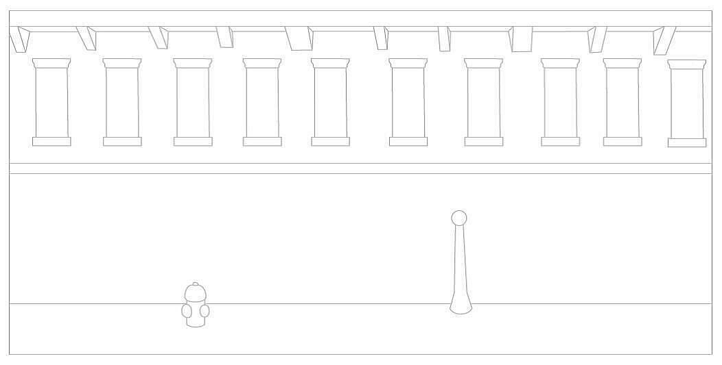 Hopper outlines.