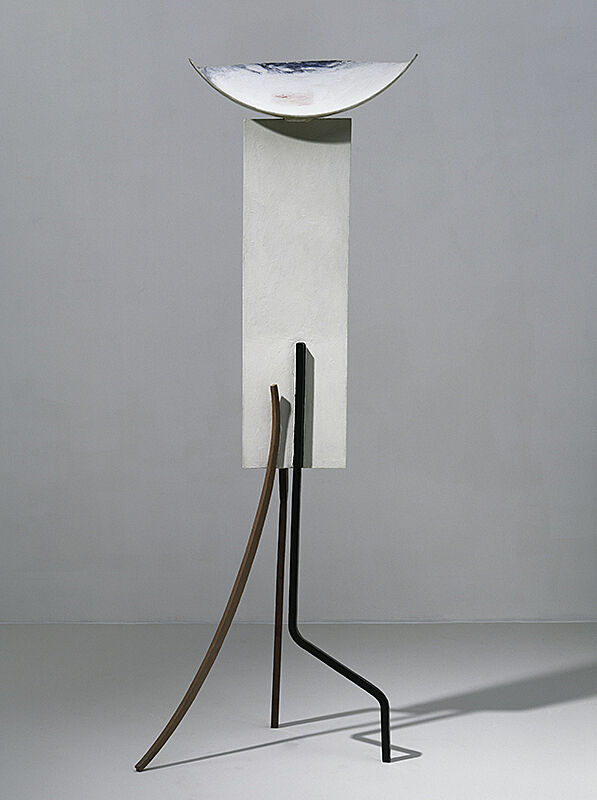 A painted steel sculpture by David Smith.