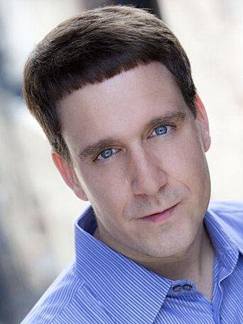 A head shot of actor Jamie Faryniak.