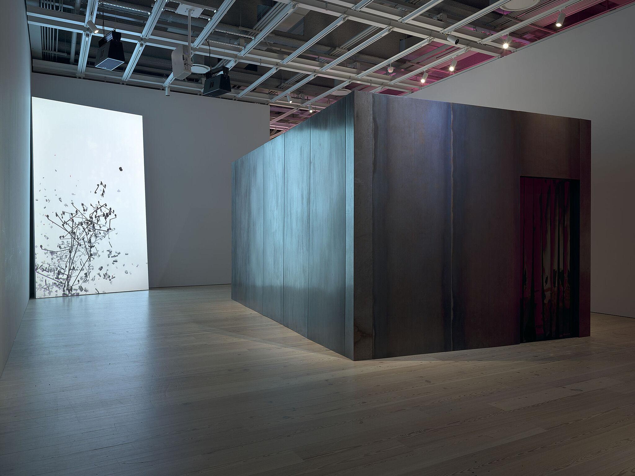An art installation view of Dreamlands.