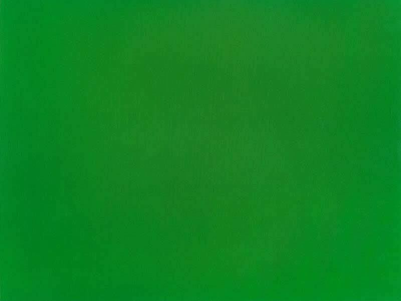 A green screen.