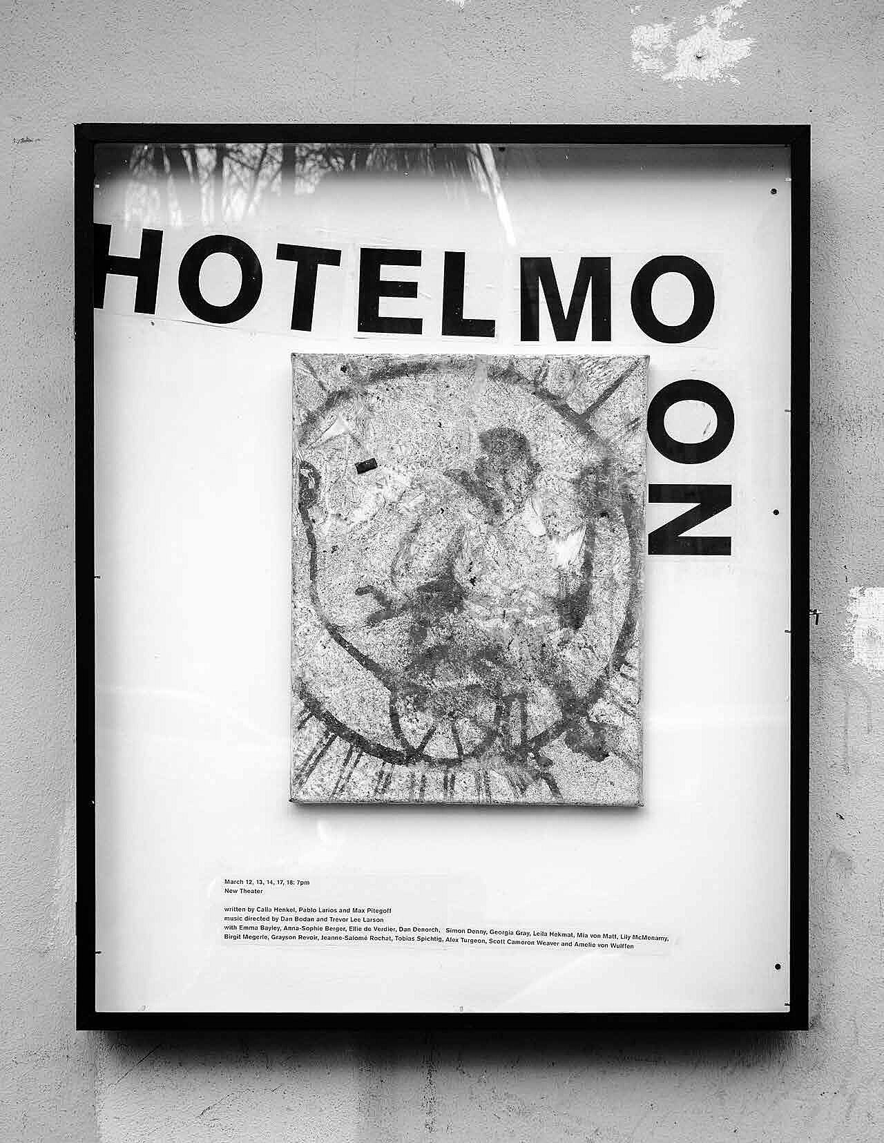 Hotel Moon image and picture frame.