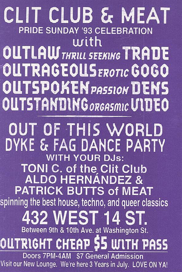 Purple poster featuring invitation.