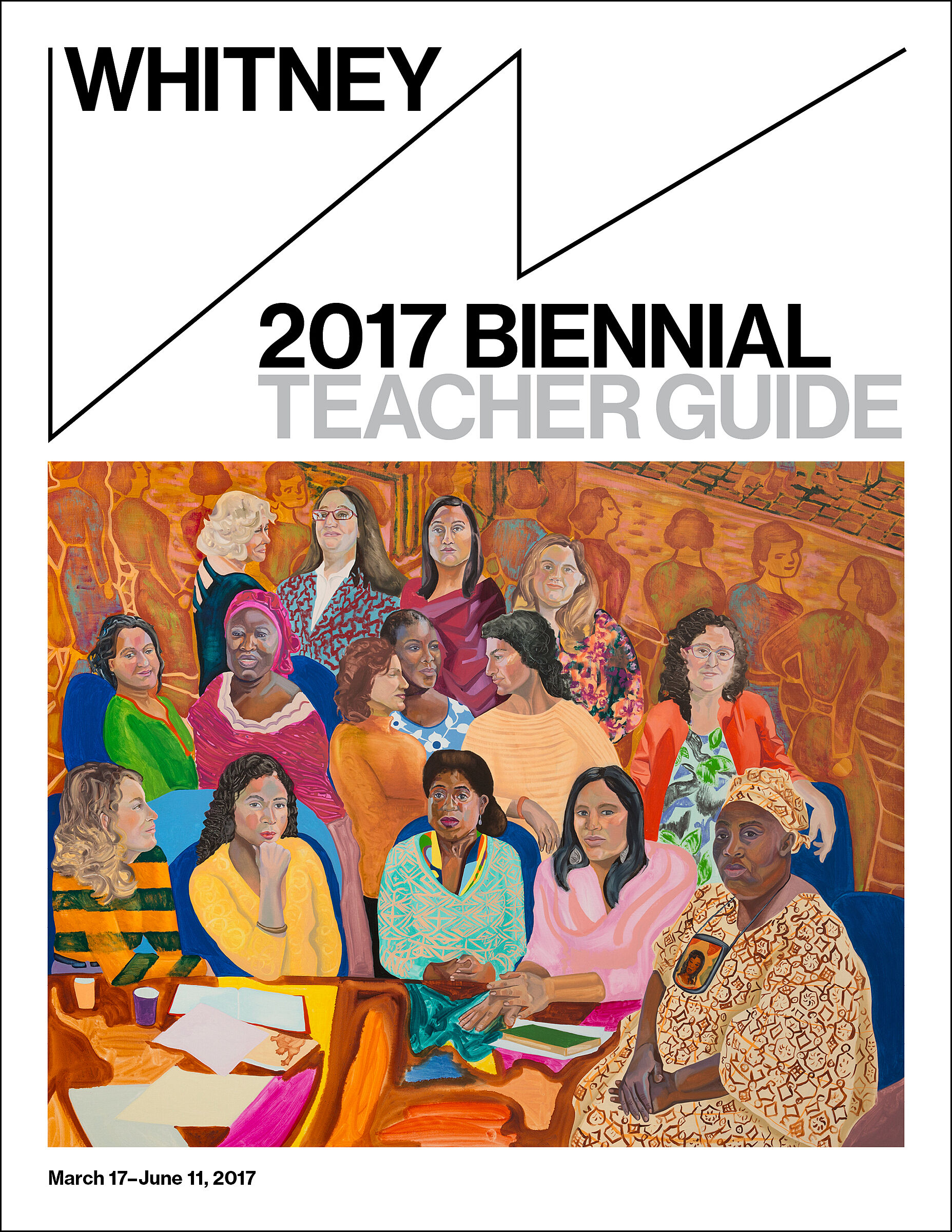 Biennial 2017 Teacher Guide cover.
