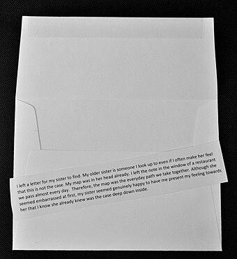 Text paper.