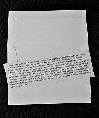 Text on paper.