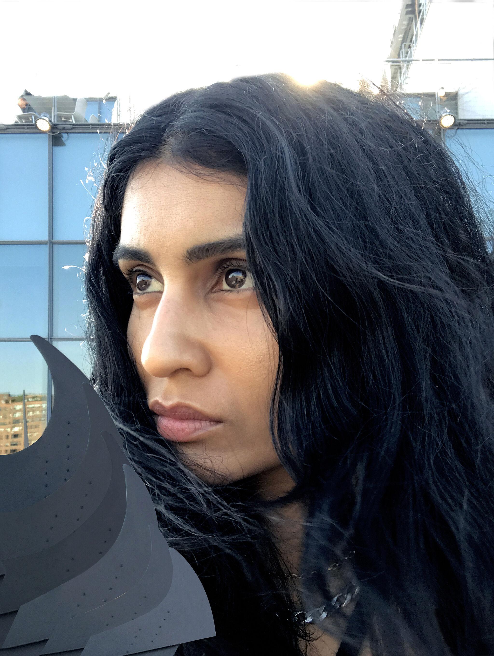 Photograph of artist Baseera Khan