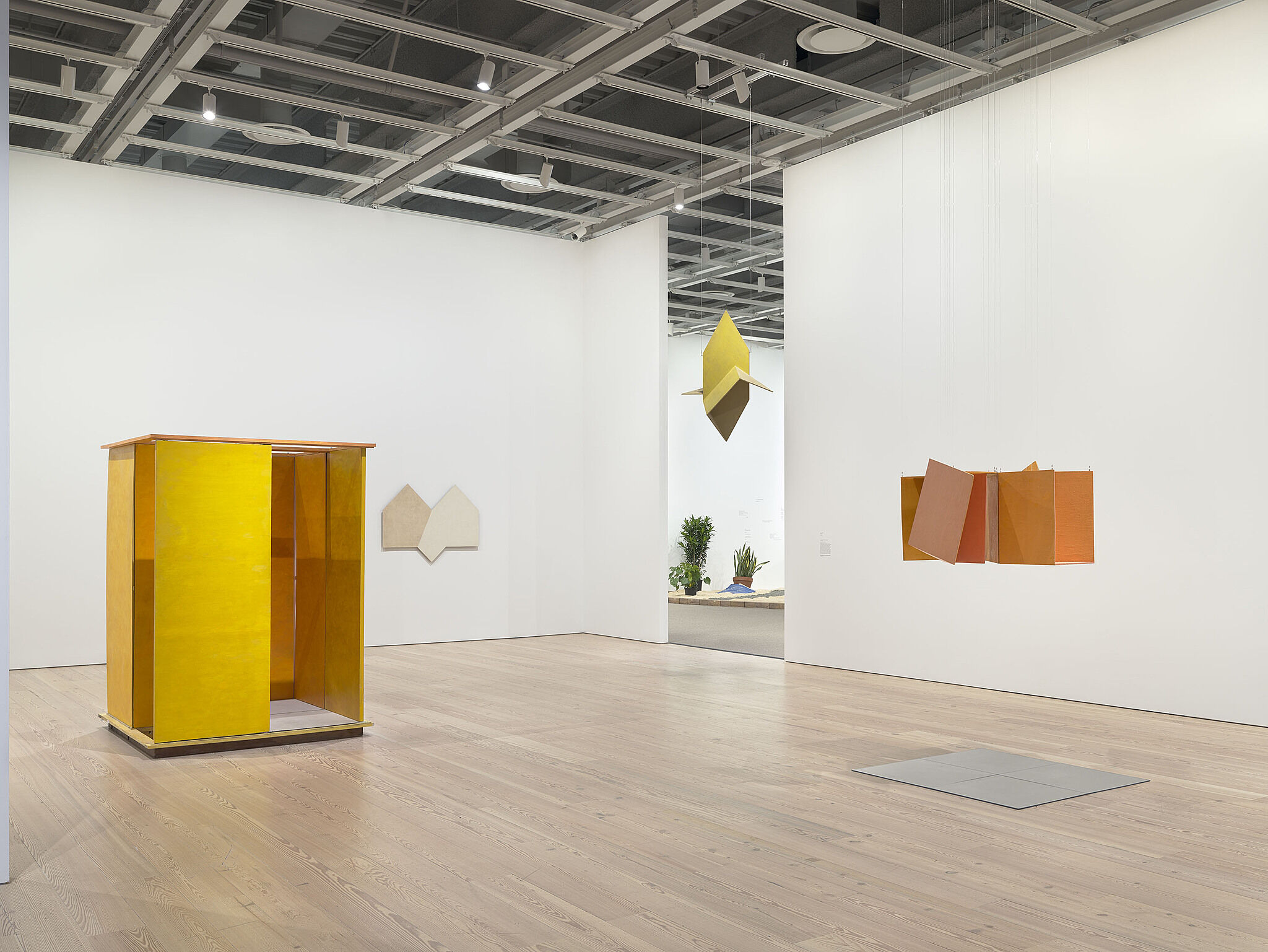 Installation view of Hélio Oiticica's exhibition To Organize Delirium