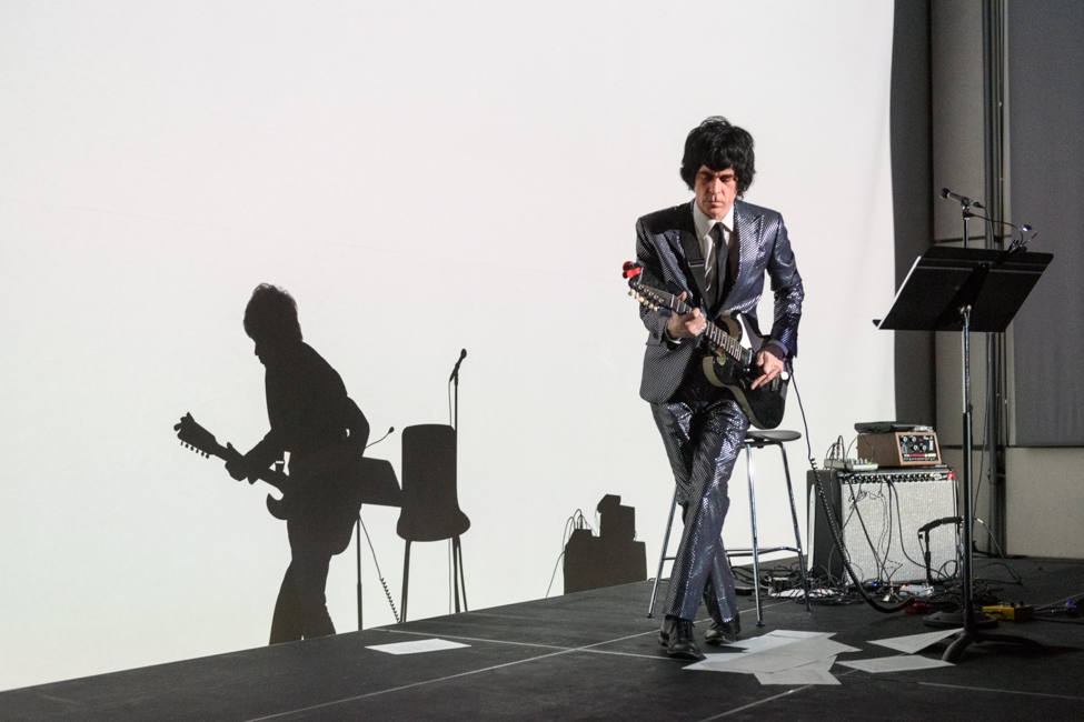 Ian Svenonius combines music and text from his essay collection Censorship Now!!