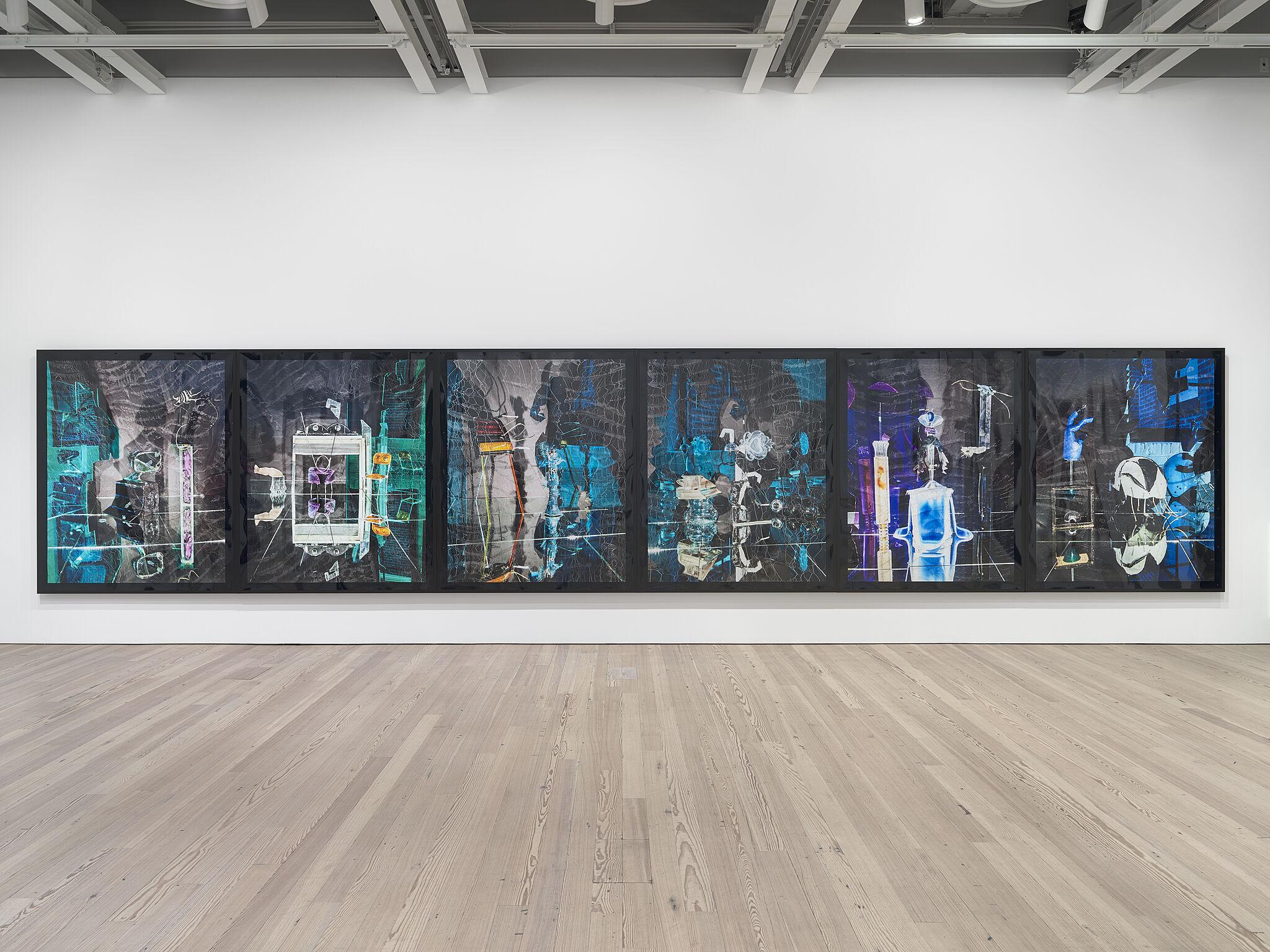 Installation view of Willa Nasatir exhibition