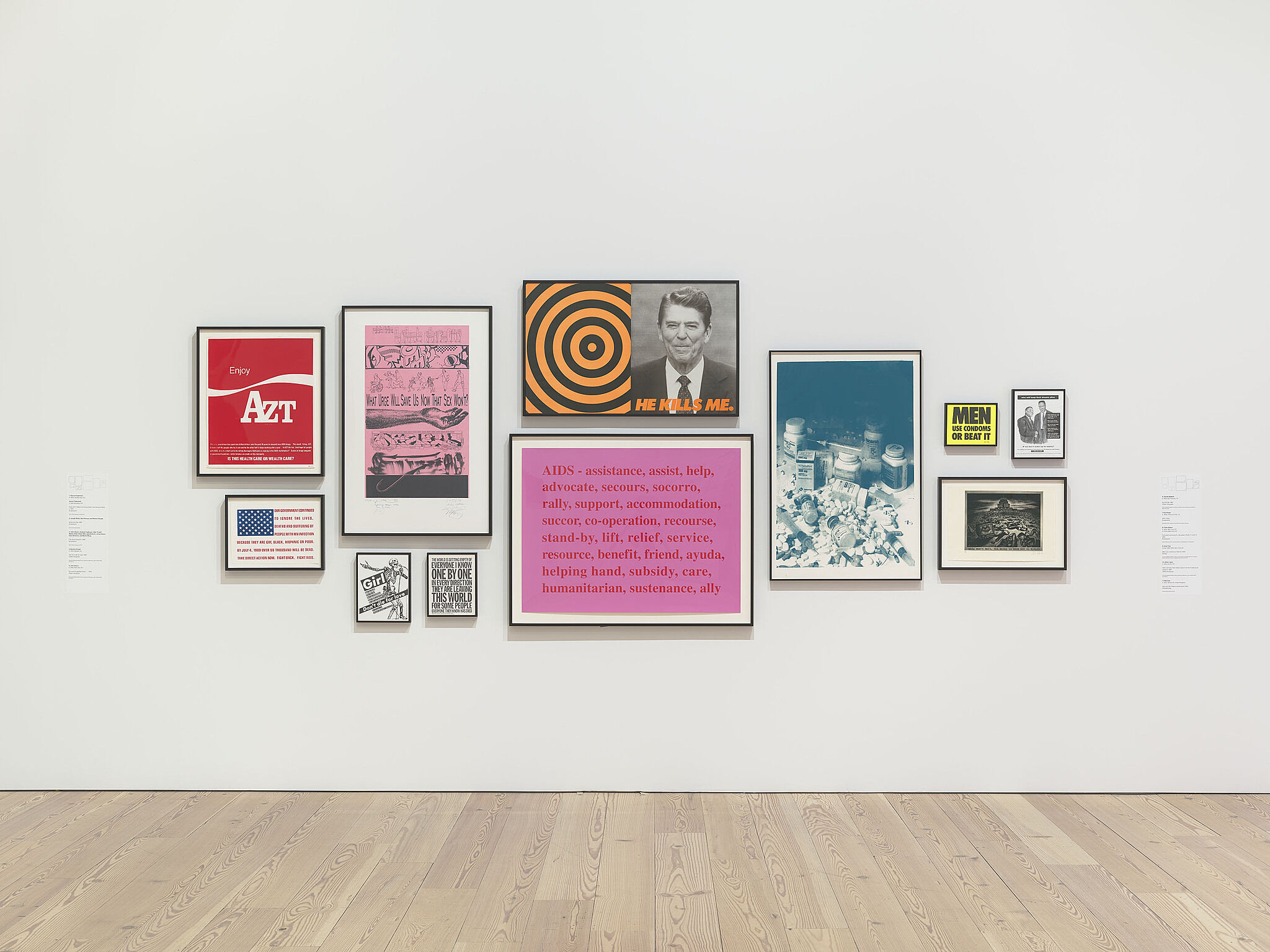 Installation view of An Incomplete History of Protest: Selections from the Whitney's Collection, 1940–2017