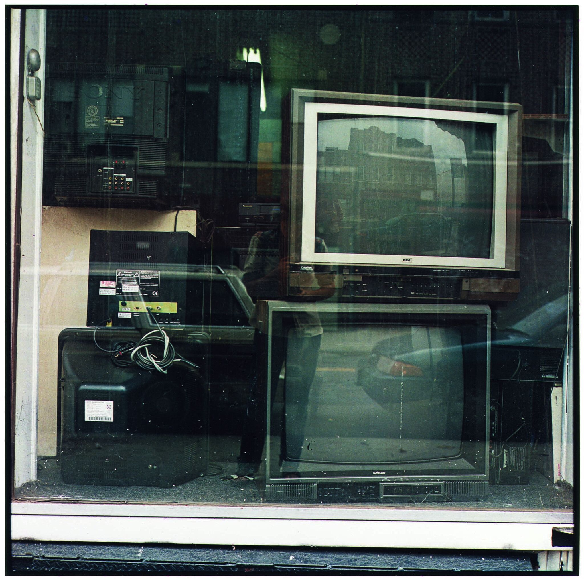 TV Sets in Store Window