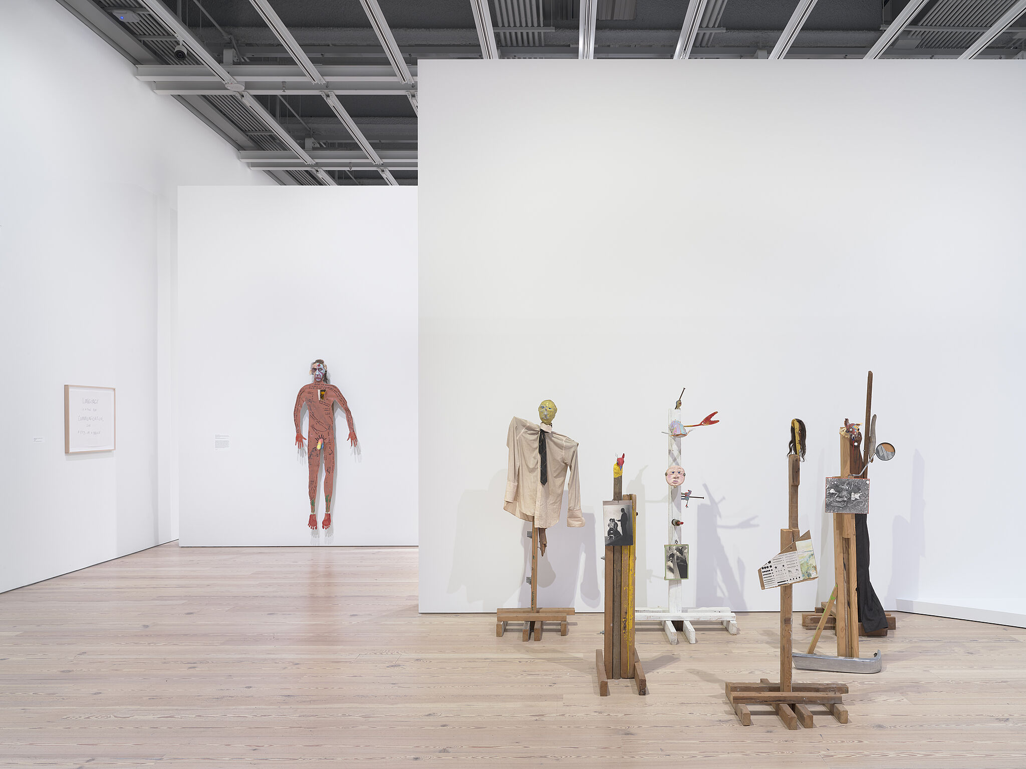 Installation view of Jimmie Durham: At the Center of the World.