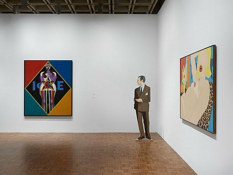 Installation view of Sinister Pop exhibition.