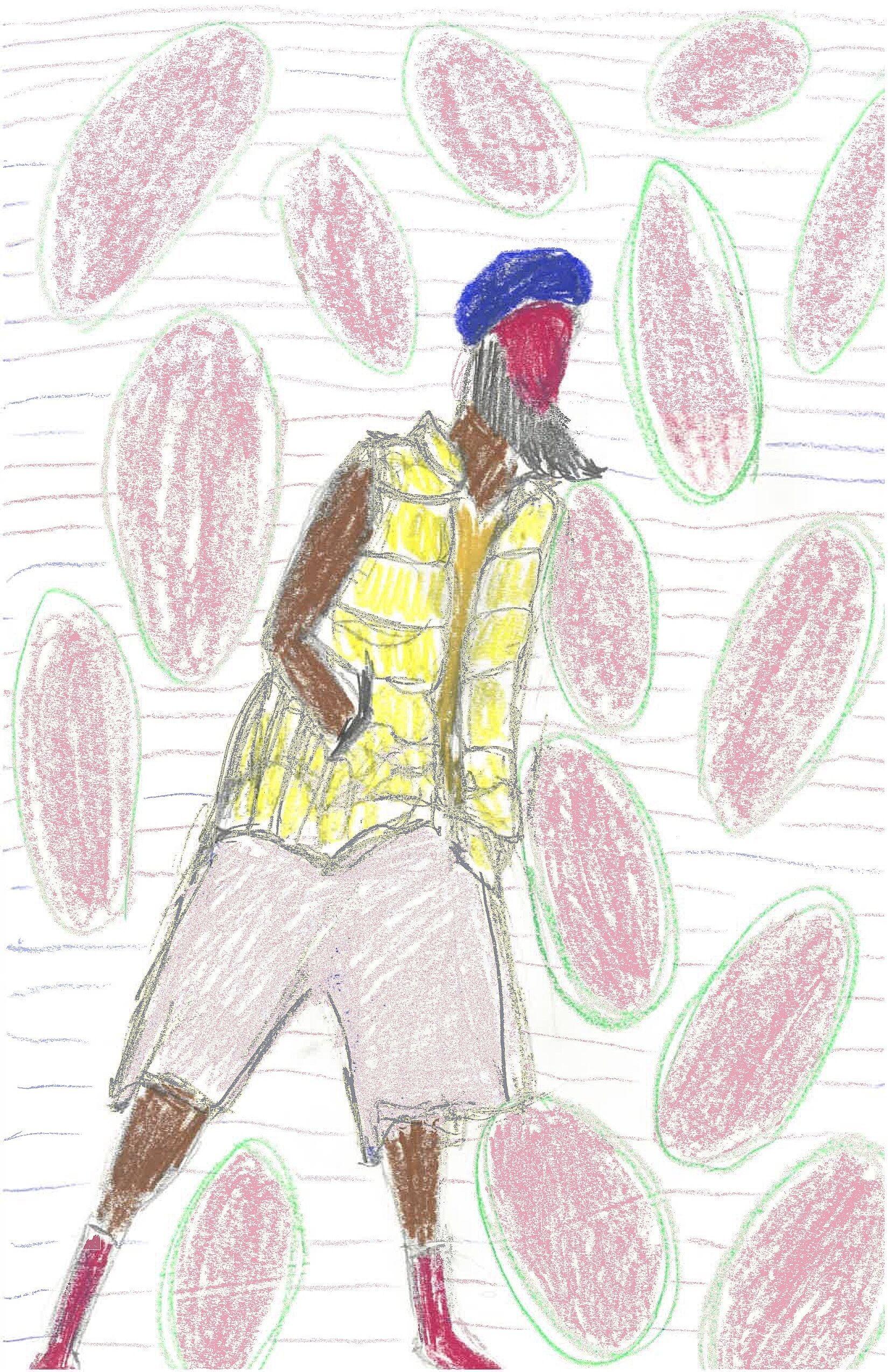 Child's sketch.