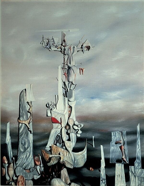 Surrealist painting.