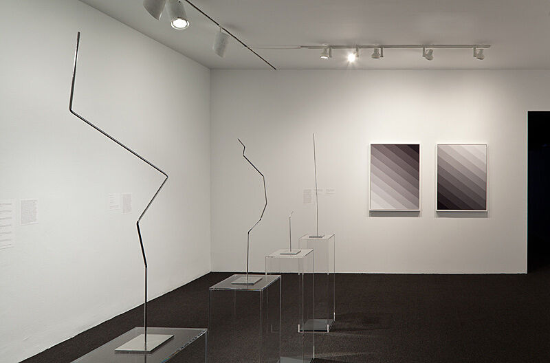 Installation shot of the exhibition.