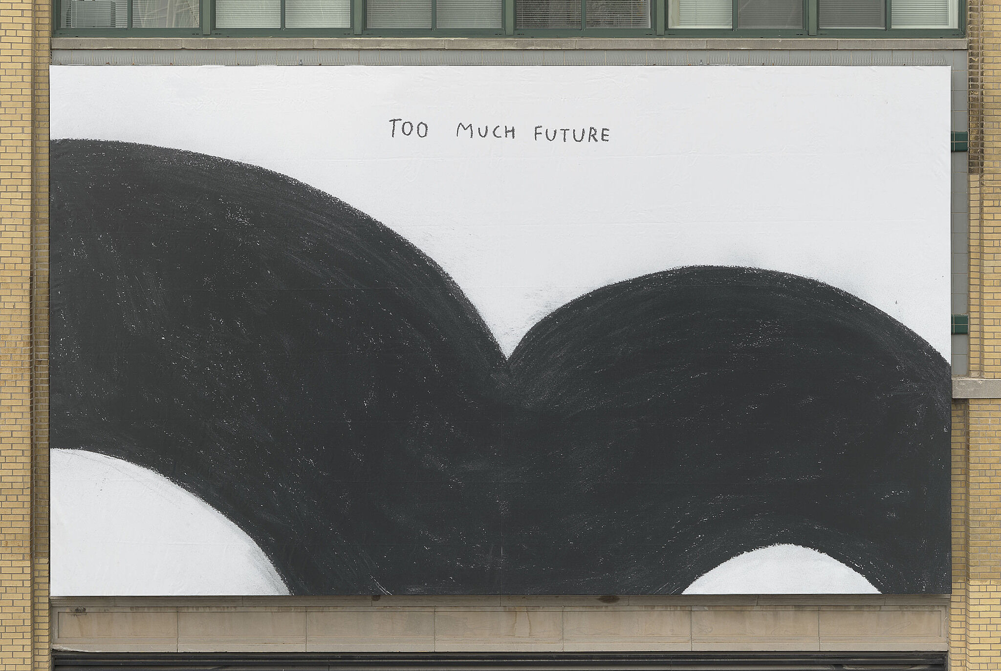 "Installation view of ""Too Much Future"""