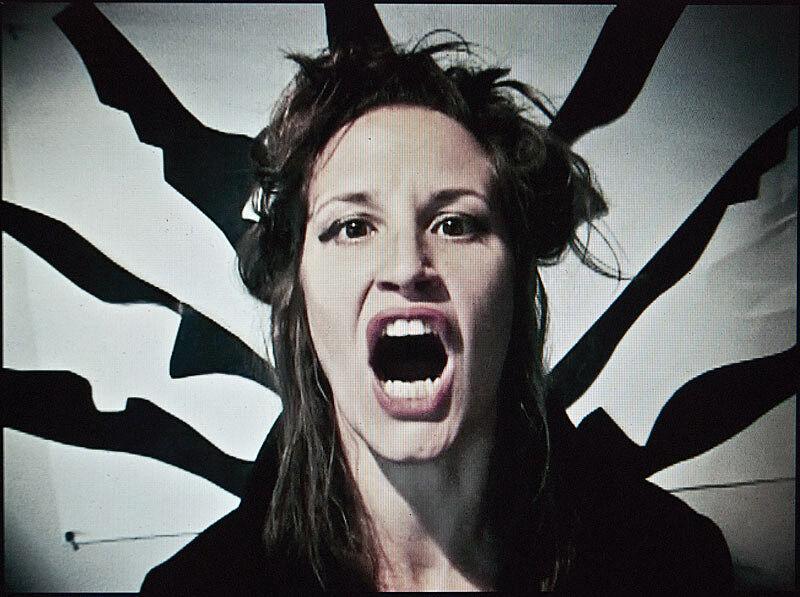 A still shot of a video of a woman.