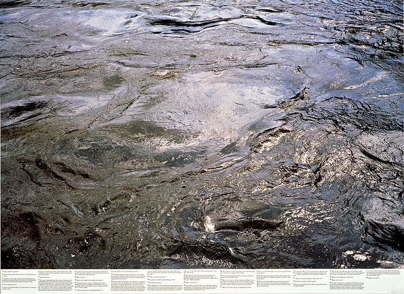Photograph of the surface of water.