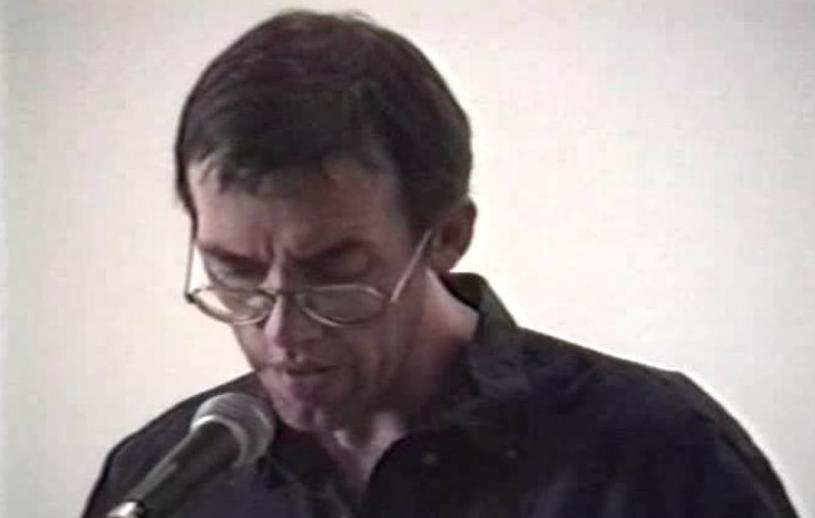 David Wojnarowicz reading.