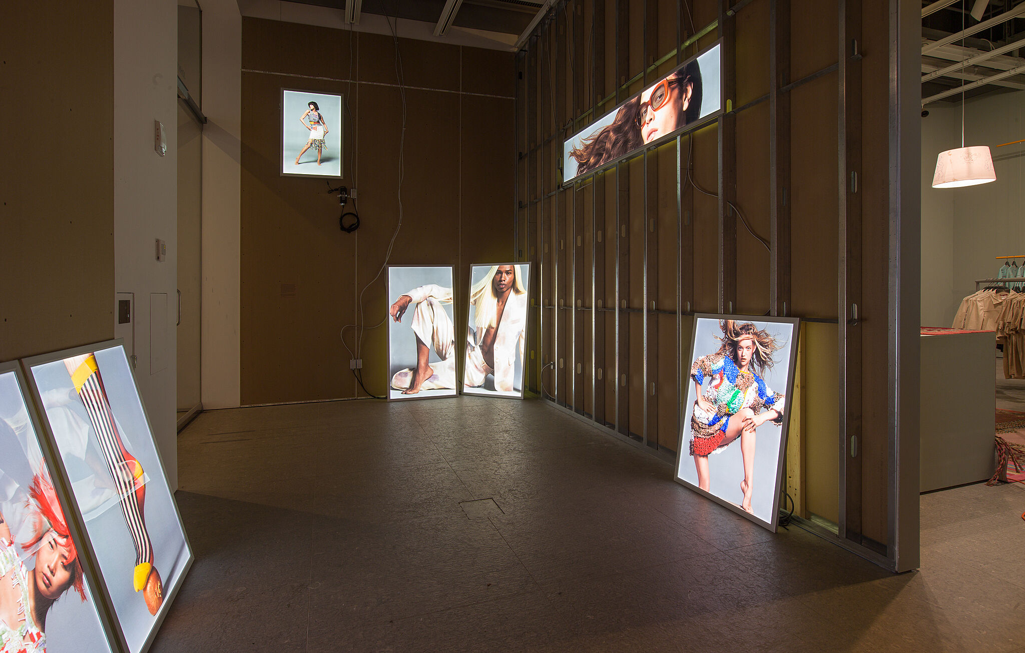 Installation view of Eckhaus Latta: Possessed