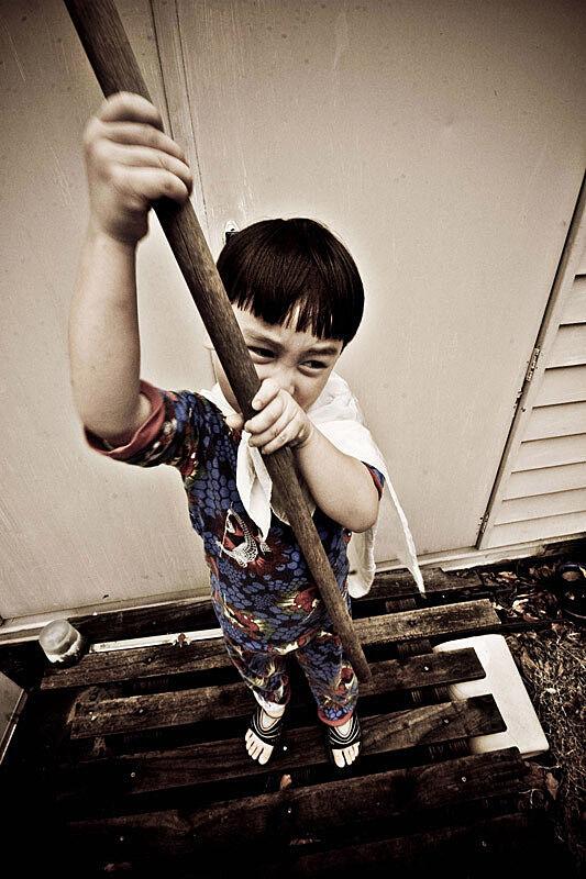 A photograph of a boy.