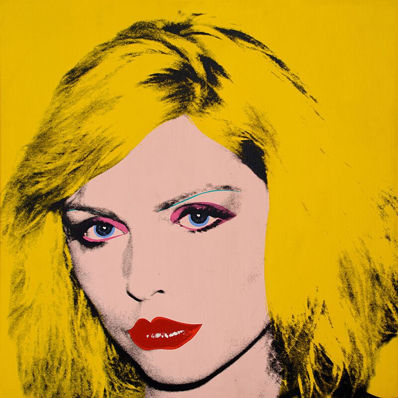 Portrait of Debbie Harry.