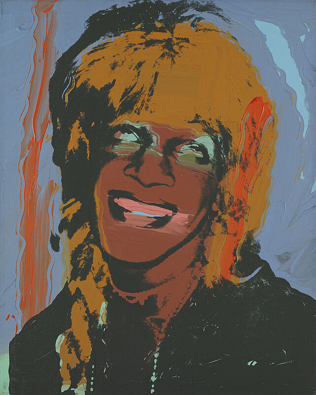 Painting of Marsha P. Johnson.