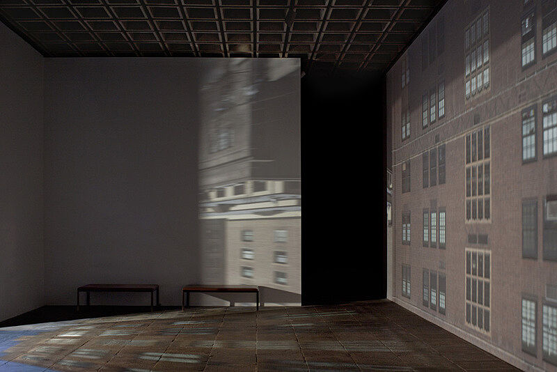Zoe Leonard's camera obscura installation in the 2014 Biennial