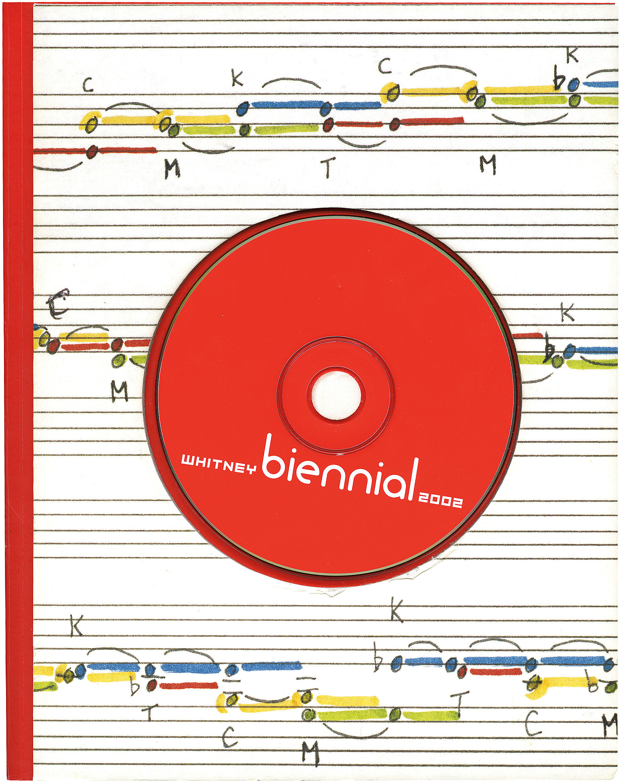 Cover for 2002 Biennial catalogue