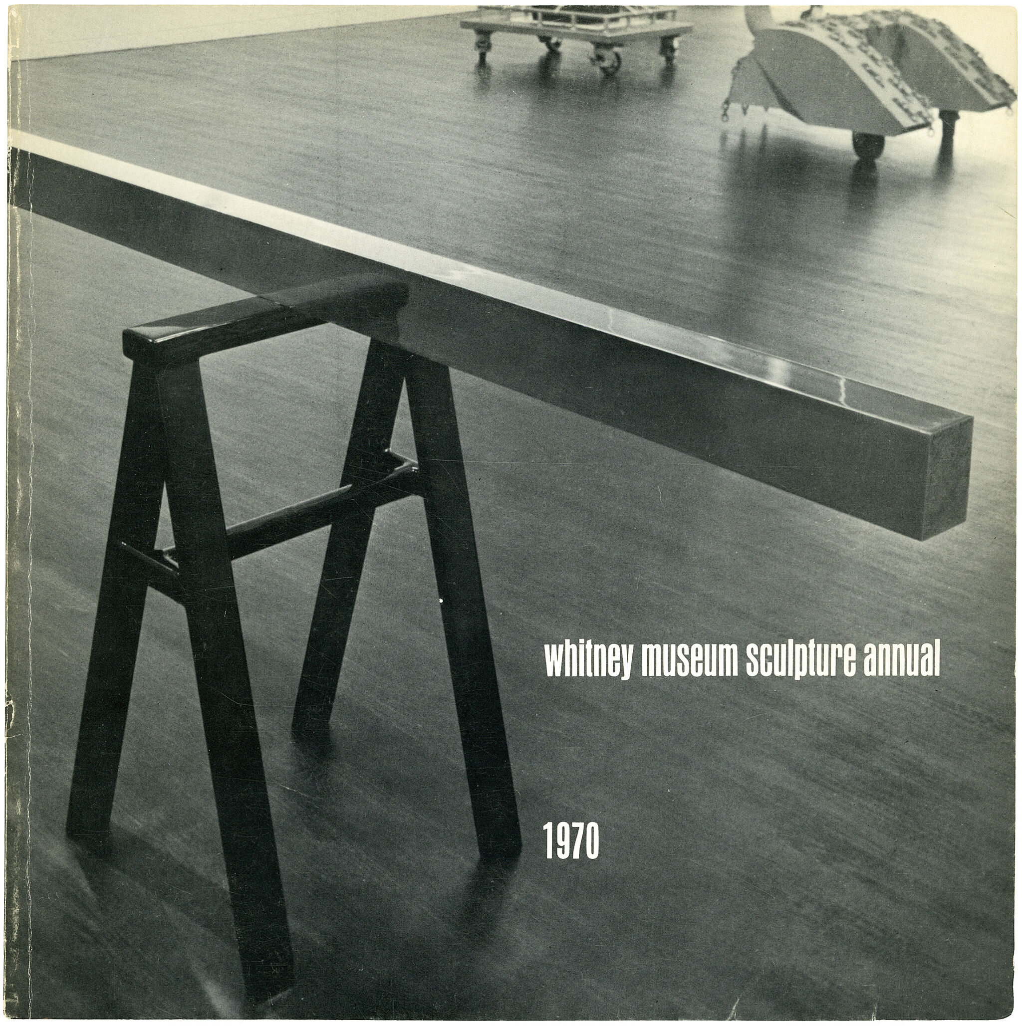 Catalogue cover for 1970 Annual exhibition: Contemporary American Sculpture